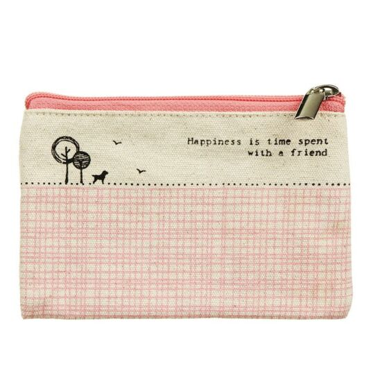 'Happiness is Time' Purse