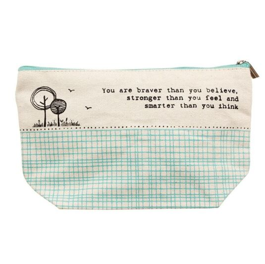 'You Are Braver' Toiletry Bag