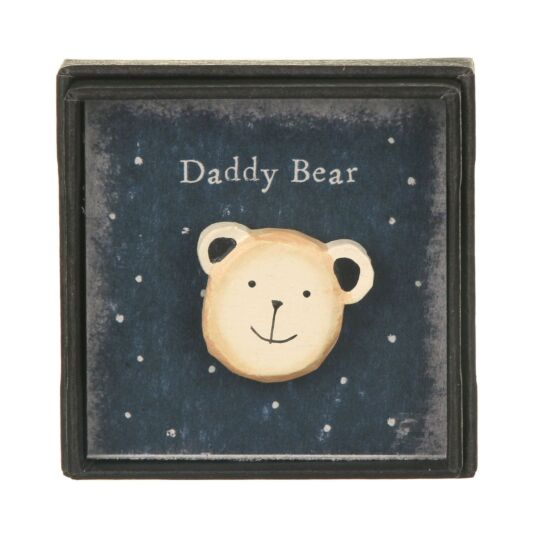 Daddy Bear Lapel Pin