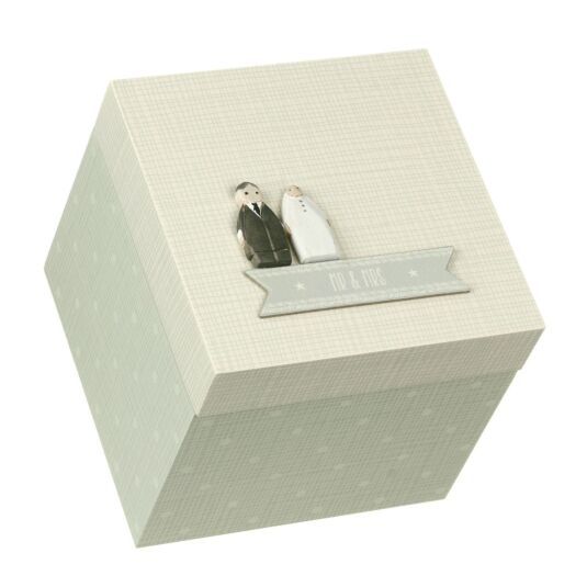 Mr & Mrs Keepsake Box
