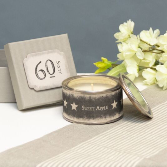 '60' Boxed Candle