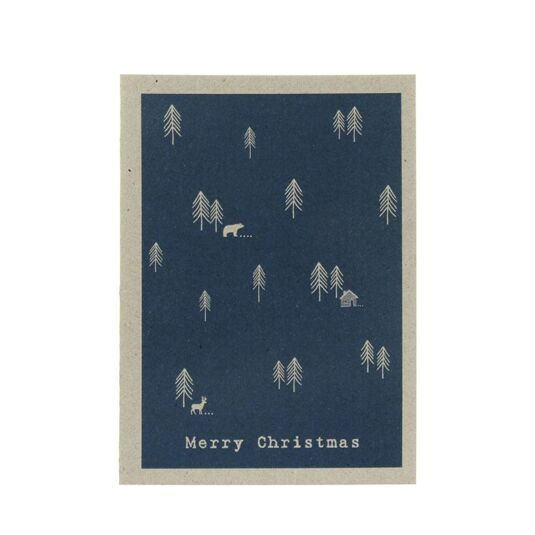 Winterland Card – Cabin In The Woods