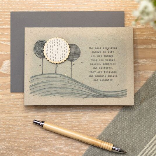 'The Most Beautiful Things' Card