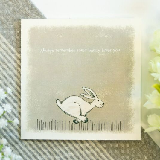 'Some Bunny Loves You' Card