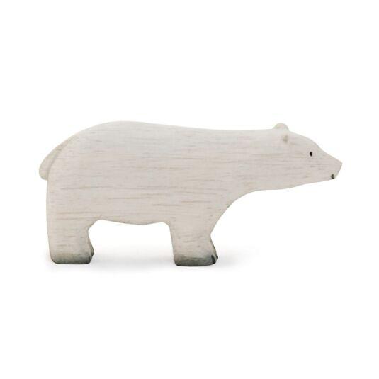Little Wooden Polar Bear