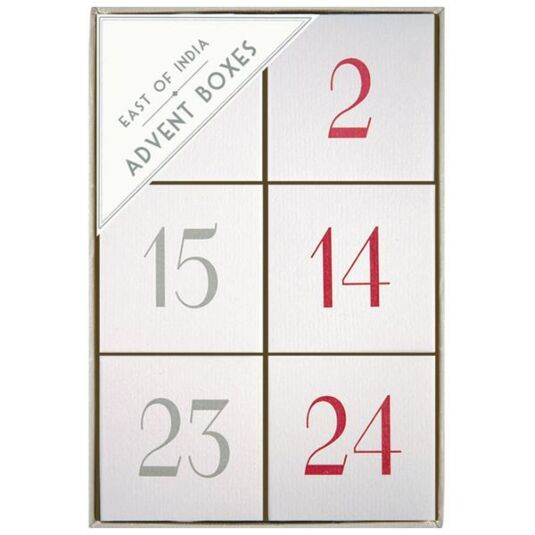 Set of 24 Advent Boxes