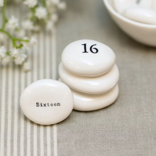 'Sixteen' Pebble