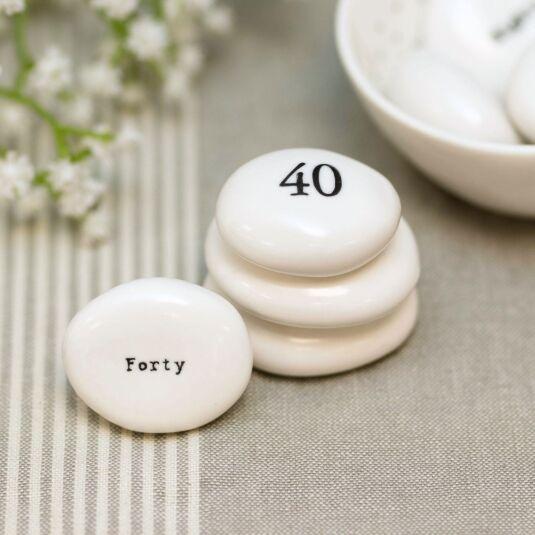 'Fourty' Pebble