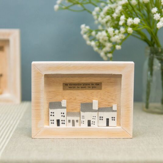 My Favourite Place Box Frame