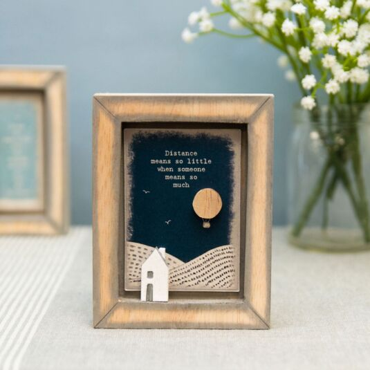 Distance Means So Little Box Frame