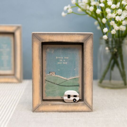 'Every Day Is A Yay Day' Box Frame