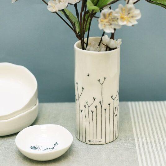 'Glorious' Porcelain Vase