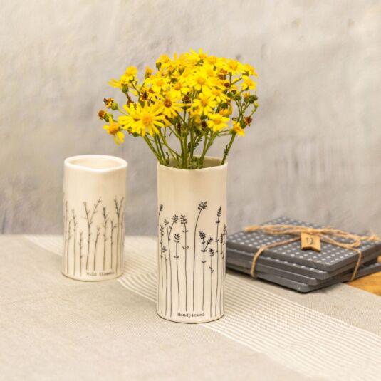 Handpicked Porcelain Vase