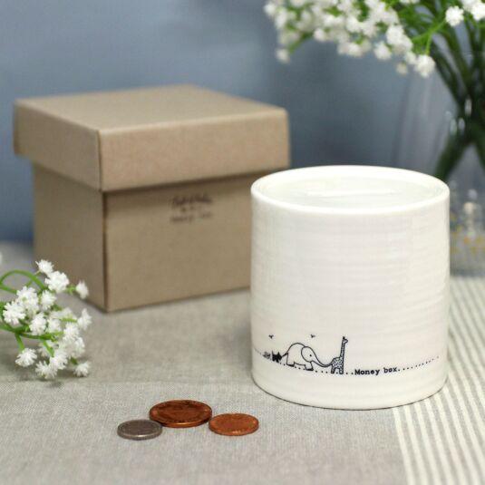 Nursery Animals Porcelain Money Box