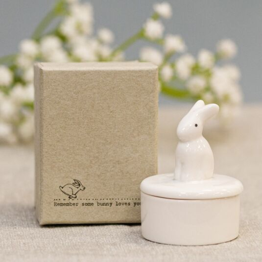 Bunny Little Porcelain Pot