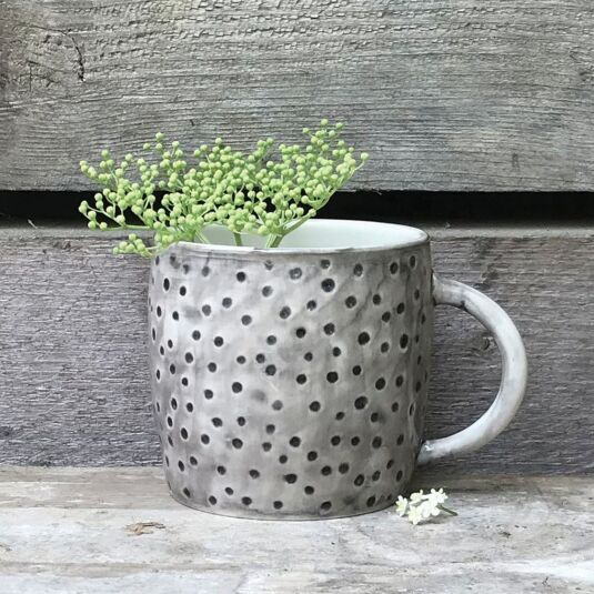 Dimpled Spots Boxed Mug