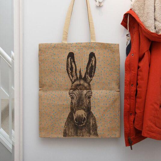 Donkey Jute Shopping Bag