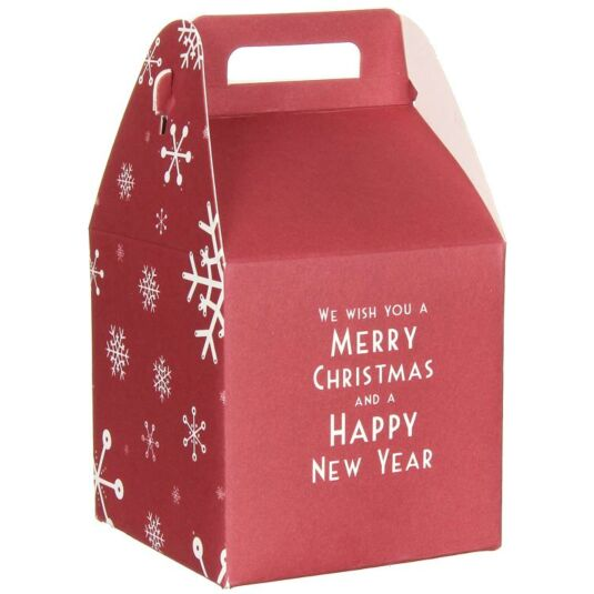 We Wish You A Merry Christmas Square Giftbox