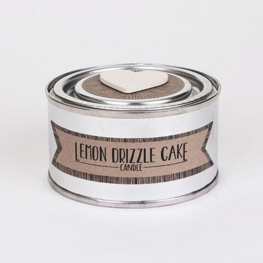 Lemon Drizzle Cake Scented Tin Candle