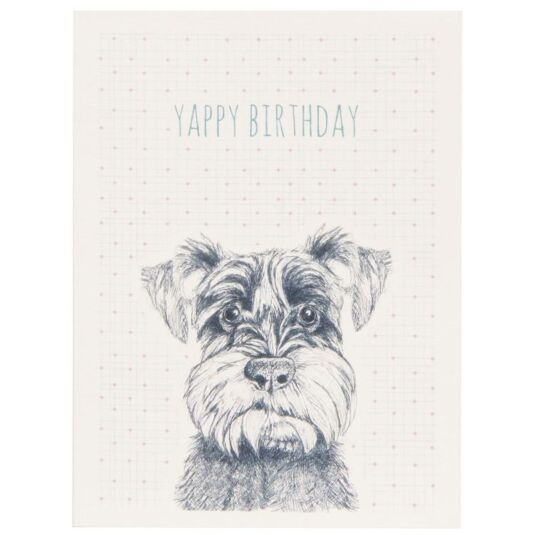 Yappy Birthday Animal Card