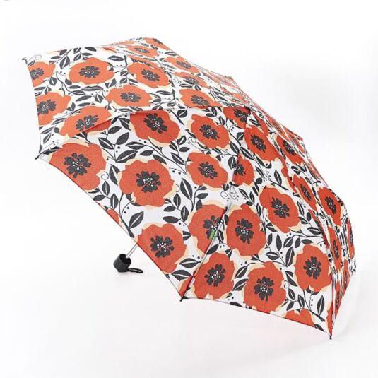 Eco Chic Poppies Compact Umbrella
