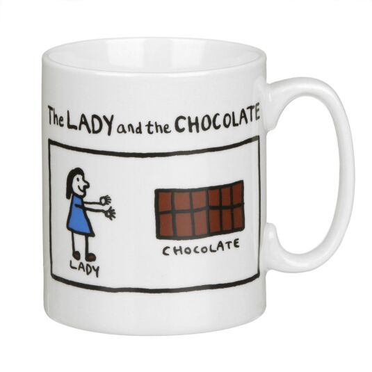The Lady and the Chocolate Mug