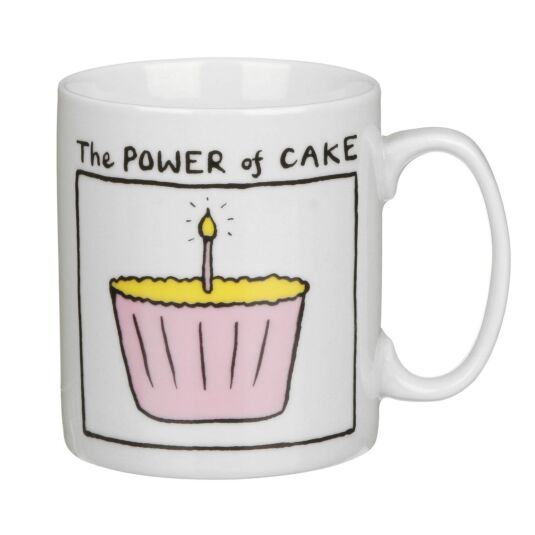 The Power of Cake Mug