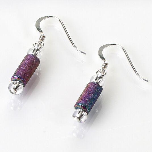 Spectrum Lava Tubes Earrings