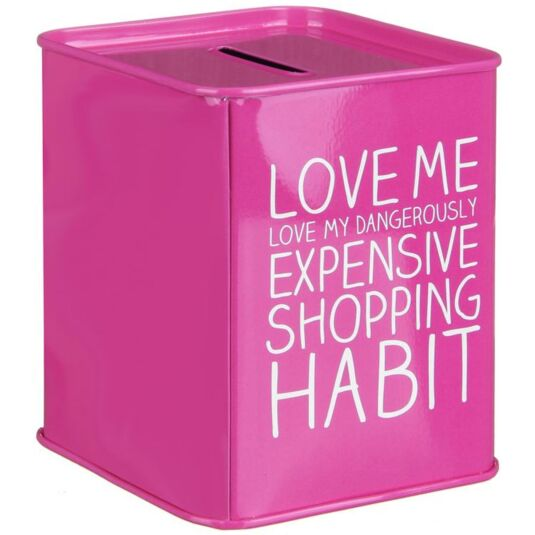 Shopping Habit Money Box