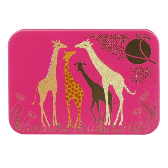 Giraffes Pocket Tin