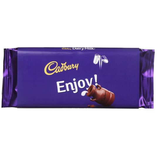 'Enjoy' 110g Dairy Milk Chocolate Bar
