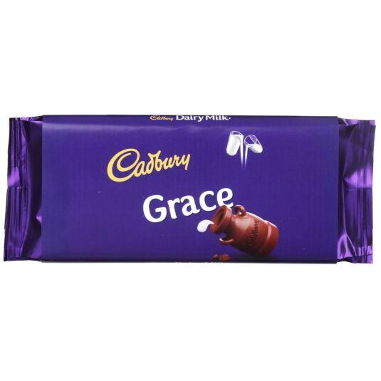 'Grace' 110g Dairy Milk Chocolate Bar