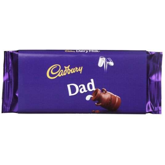 'Dad' 110g Dairy Milk Chocolate Bar