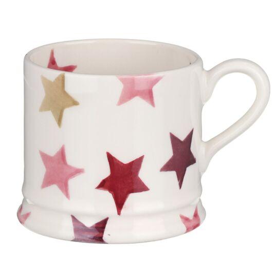 Pink & Gold Stars Small Mug