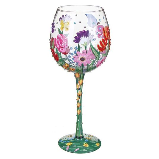 Spring Bling Extra Large Wine Glass