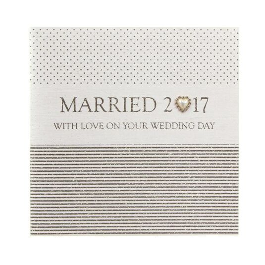 Married 2017 Card