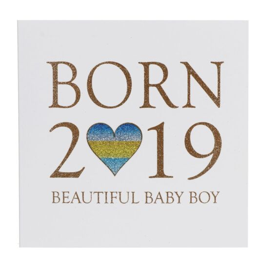 Born In 2019 Baby Boy Card