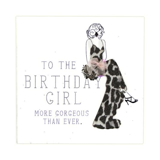 To The Birthday Girl Card