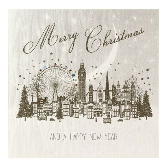 Five Dollar Shake \'Merry Christmas\' London Card | Campus Gifts