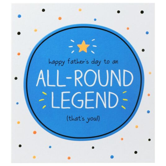 All-Round Legend Father's Day Card