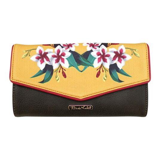 Frida Kahlo Mustard Wallet