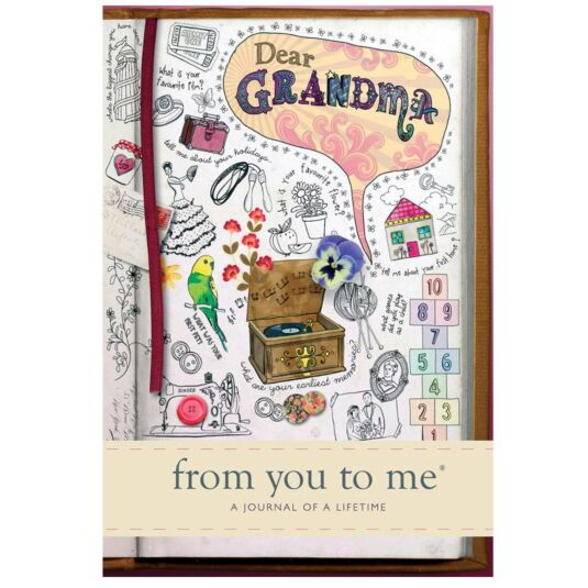 Dear Grandma, From You to Me Journal