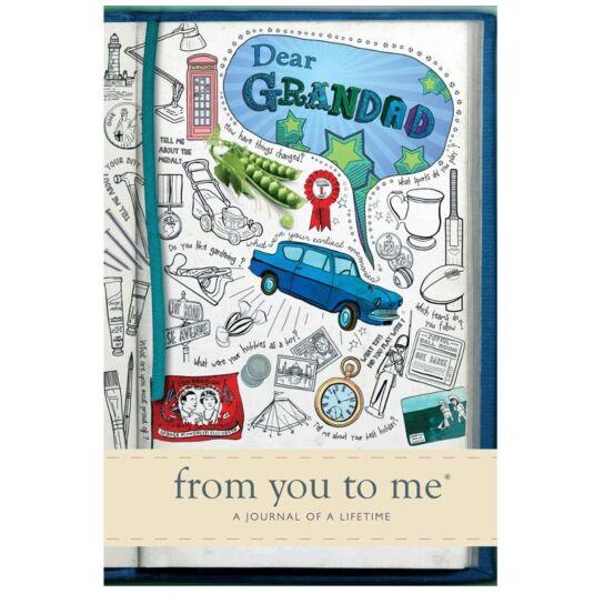 Dear Grandad, From You to Me Journal