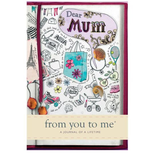 Dear Mum, From You to Me Hardback Journal