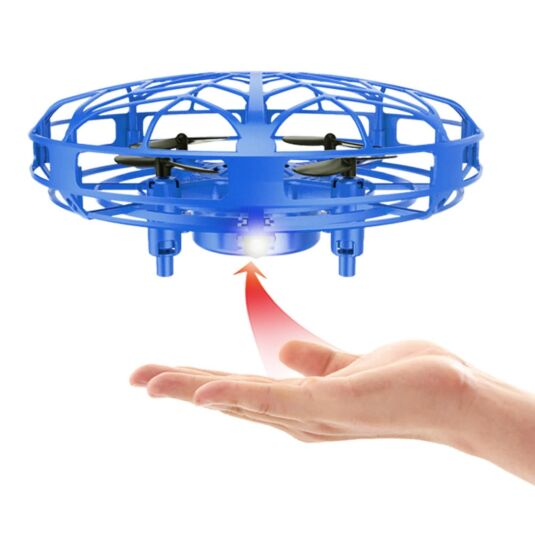 Induction Flight UFO Quadcopter – Lunar Blue
