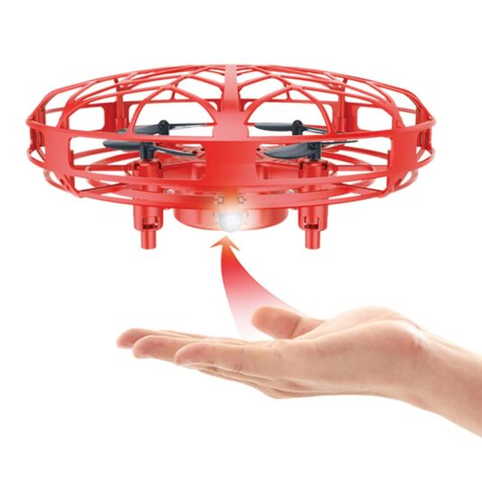 Induction Flight UFO Quadcopter - Mars Red