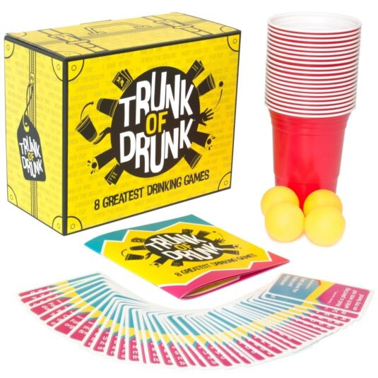 Trunk of Drunk – 8 Drinking Games