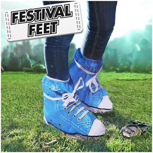 Festival Feet – Blue