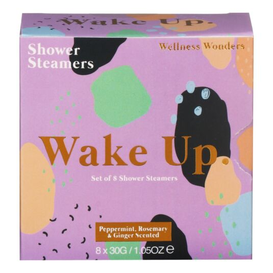 'Wake Up' Shower Steamers
