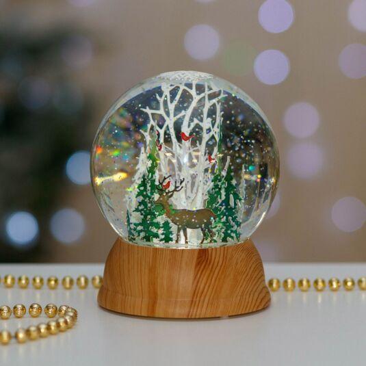 Nordic Scene LED Snow Globe